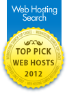 HostStore- Top Pick Web Host 2012 by WebHostingSearch.com